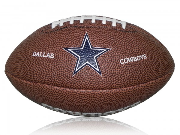 Dallas Cowboys Wilson NFL Mini Logo Football