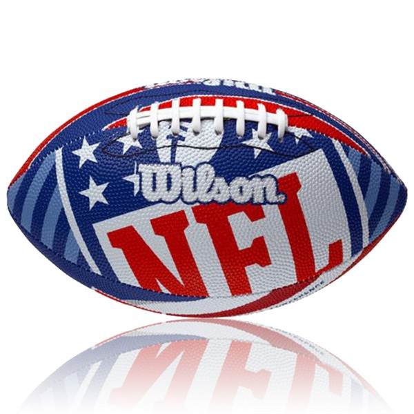 NFL Wilson Logo Football Junior