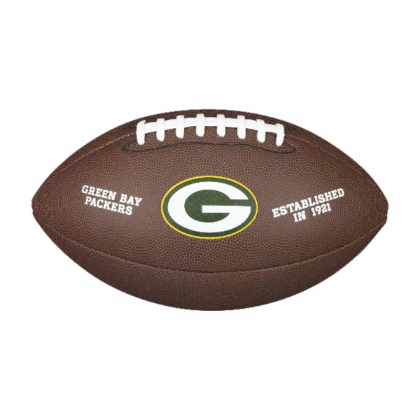 Wilson NFL Green Bay Packers Composite Football