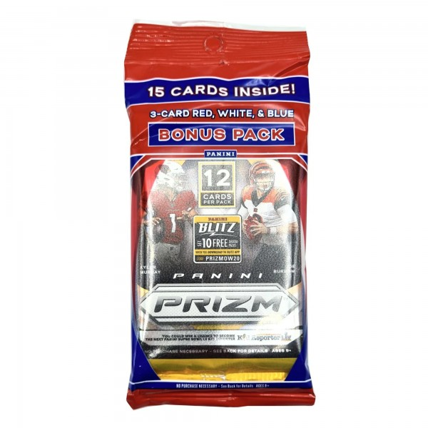 NFL 2020 Panini PRIZM Trading Cards - Multipack