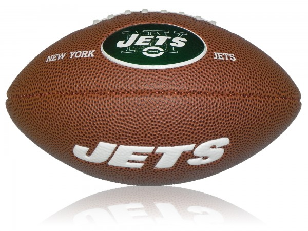 New York Jets Wilson NFL Mini Logo Football