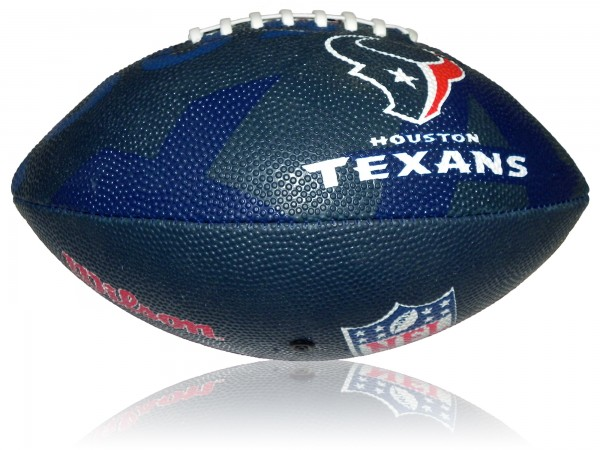 Houston Texans Wilson NFL Junior Logo Football
