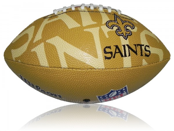 New Orleans Saints Wilson NFL Junior Logo Football