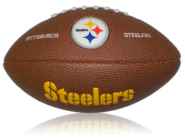 Pittsburgh Steelers Wilson NFL Mini Logo Football