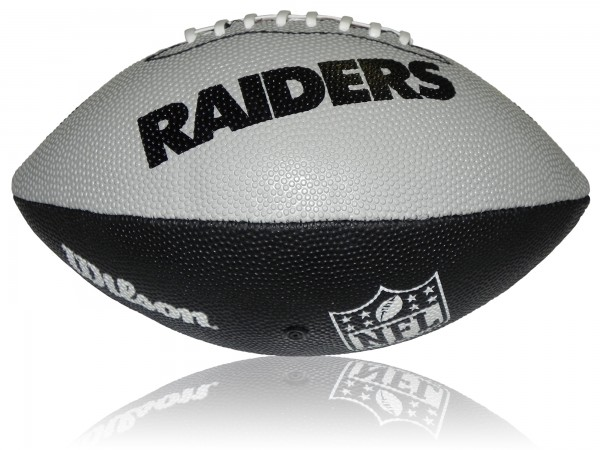 Oakland Raiders Wilson NFL Junior Logo Football