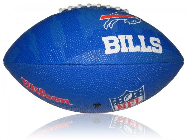 Buffalo Bills Wilson NFL Junior Logo Football