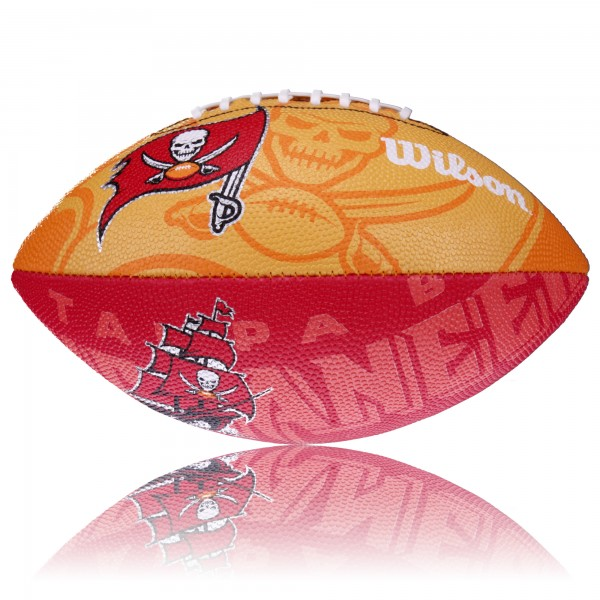 Tampa Bay Buccaneers Wilson NFL Junior Logo Football