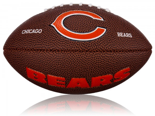 Chicago Bears Wilson NFL Mini Logo Football