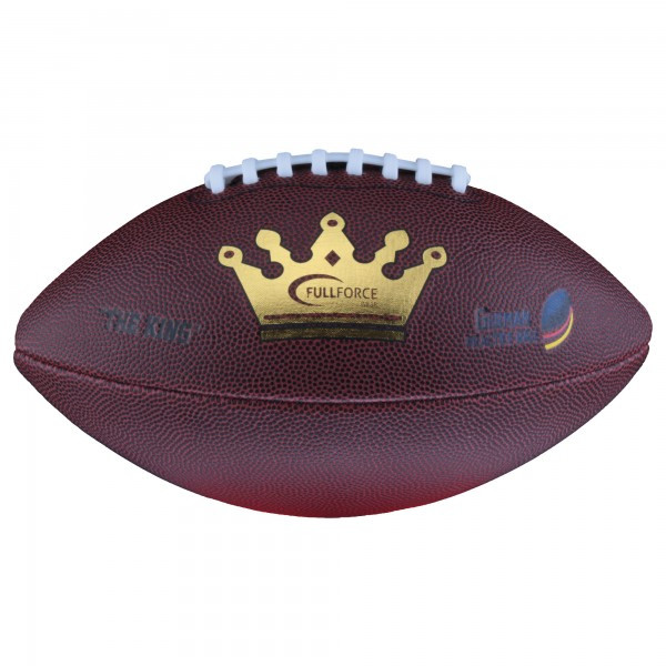 Junior Full Force American Football Trainingsball German Practice Ball THE KING