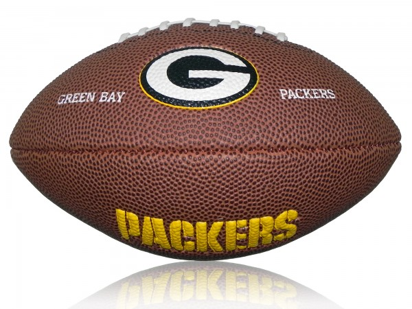 Greenbay Packers Wilson NFL Mini Logo Football