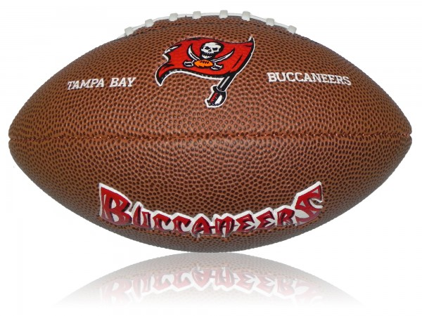 Tampa Bay Buccaneers Wilson NFL Mini Logo Football