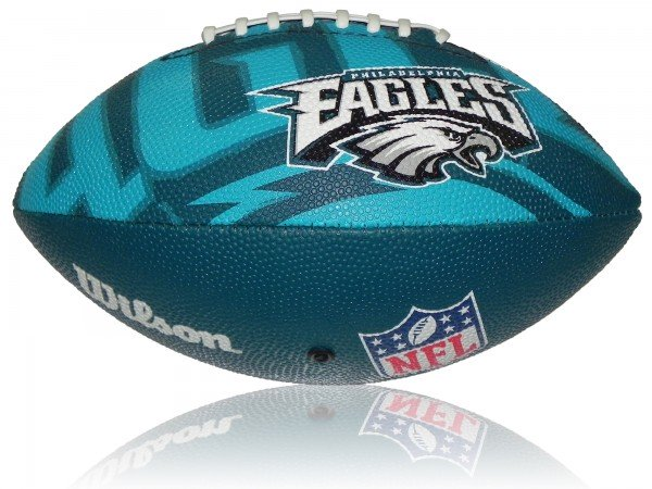 Philadelphia Eagles Wilson NFL Junior Logo Football