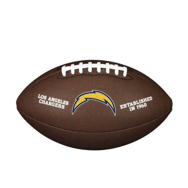 Wilson NFL Team Logo Composite Football Los Angeles Chargers