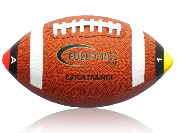 Full Force American Football Catch Trainer Ball, Junior