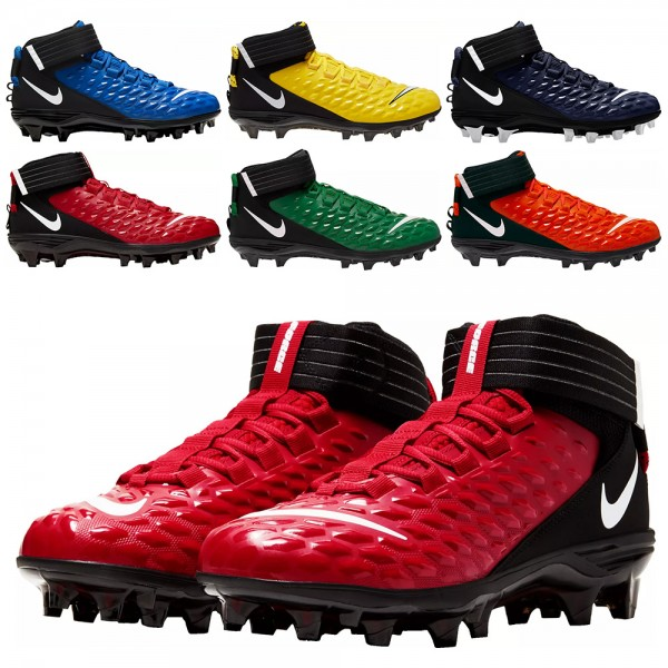 Nike Force Savage Pro 2 American Football Rasenschuhe, New Edition, 2-farbig