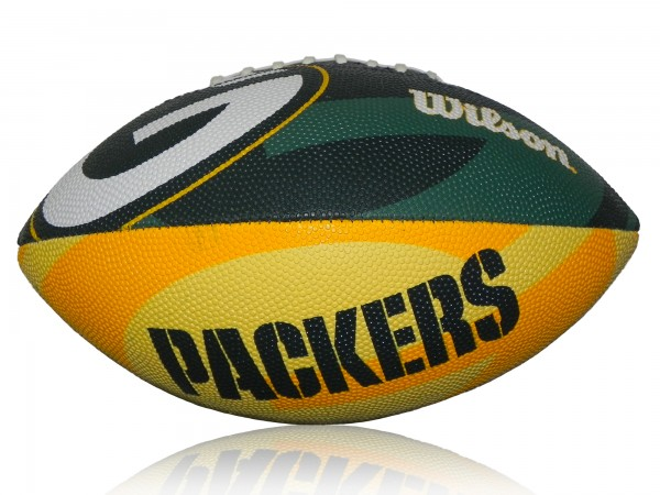 Green Bay Packers Wilson NFL Junior Logo Football