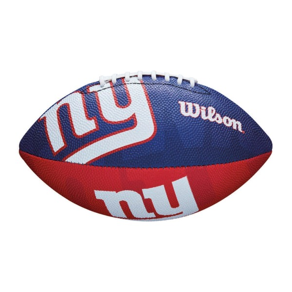 New York Giants Wilson NFL Junior Logo Football
