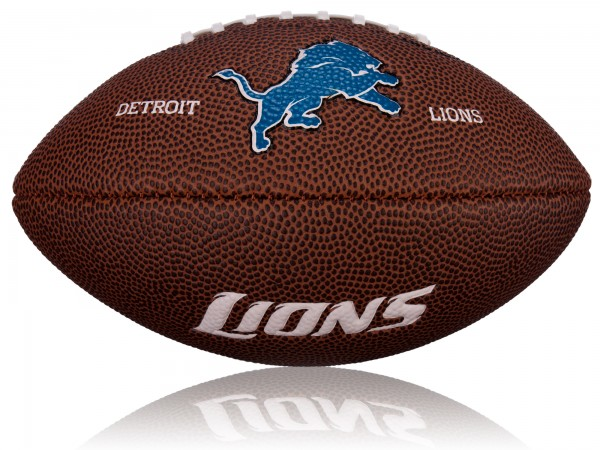 Detroit Lions Wilson NFL Mini Logo Football