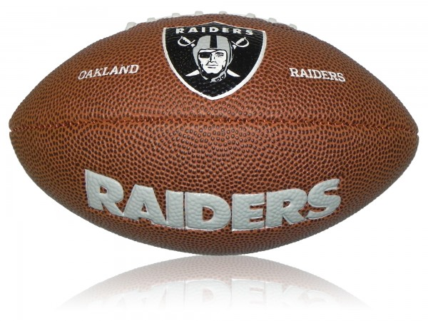 Oakland Raiders Wilson NFL Mini Logo Football