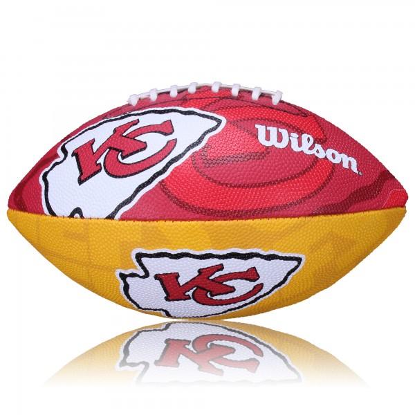 Kansas City Chiefs Wilson NFL Junior Logo Football