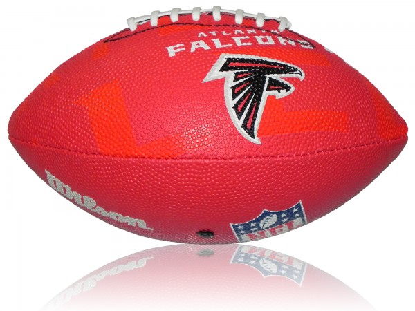 Atlanta Falcons Wilson NFL Junior Logo Football