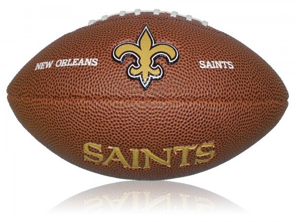New Orleans Saints Wilson NFL Mini Logo Football