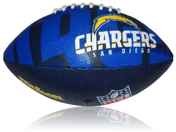 San Diego Chargers Wilson NFL Junior Logo Football