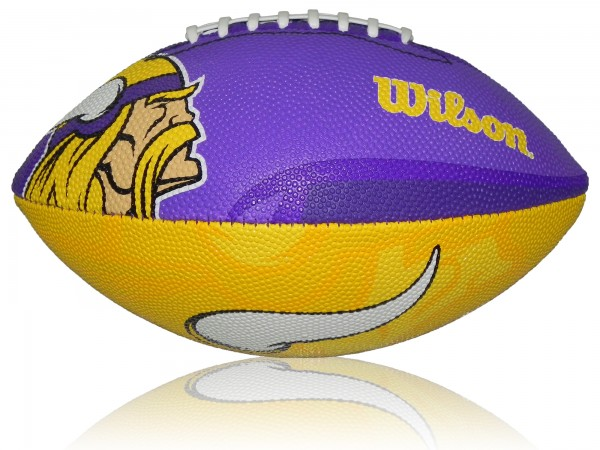 Minnesota Vikings Wilson NFL Junior Logo Football