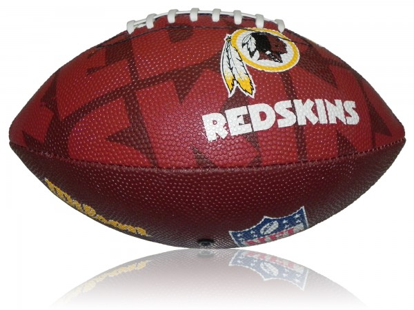 Washington Redskins Wilson NFL Junior Logo Football